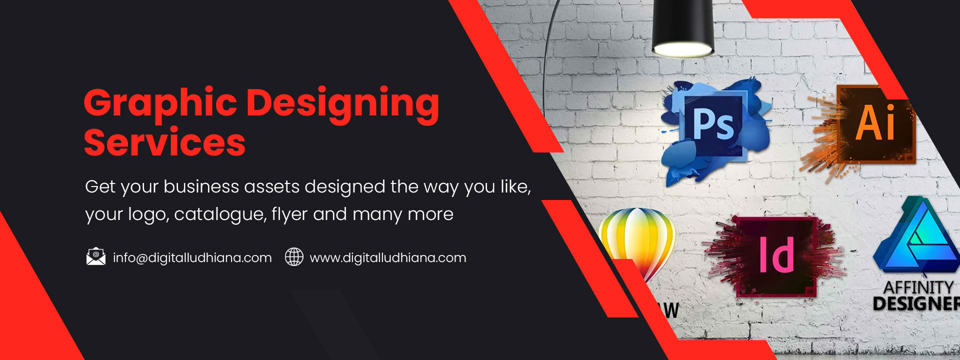 graphic designing logo flyers brochure catalouge booklet services in ludhiana punjab india