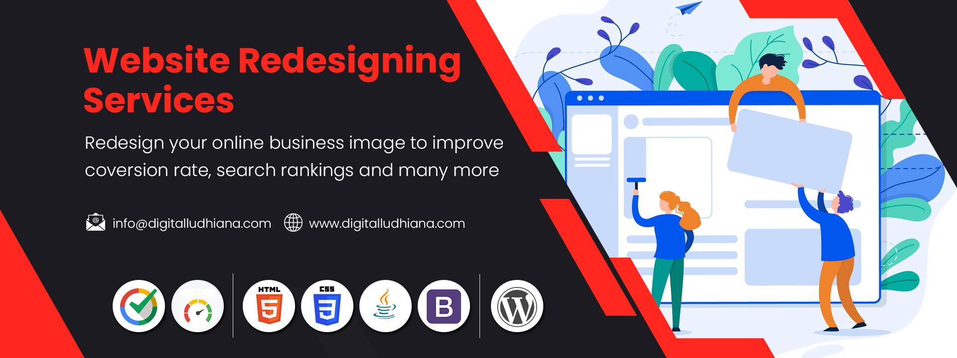 website redesigning services in ludhiana punjab india